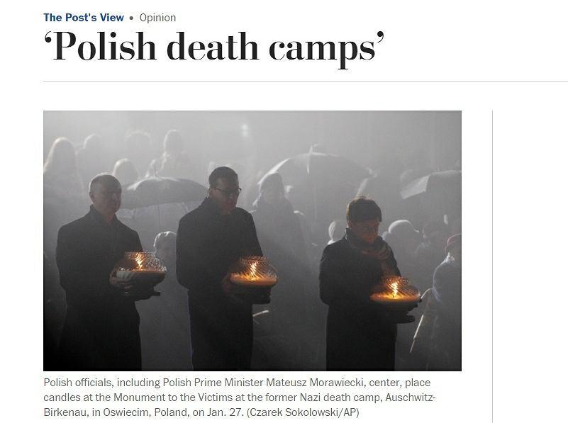Znalezione obrazy dla zapytania polish death camps washington post