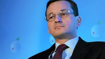 MATEUSZ MORAWIECKI JAKO PREZES ZARZĄDU BANKU ZACHODNIEGO WBK , 08.09.2011