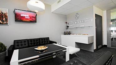 Loża biznesowa na stadionie Wisły Kraków