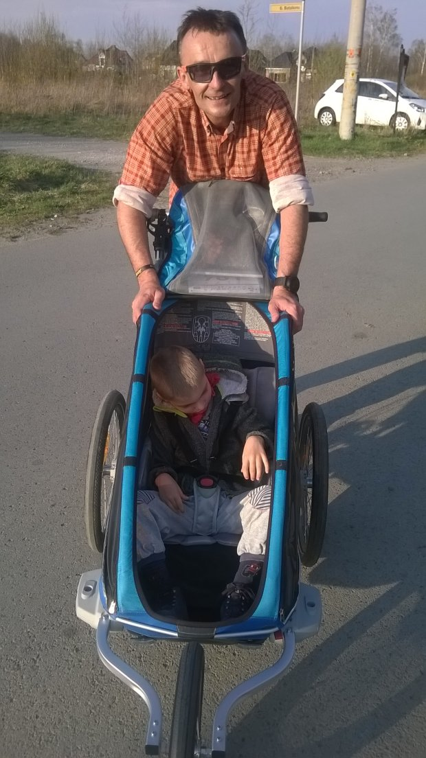 Piotr Pogon z Adrianem