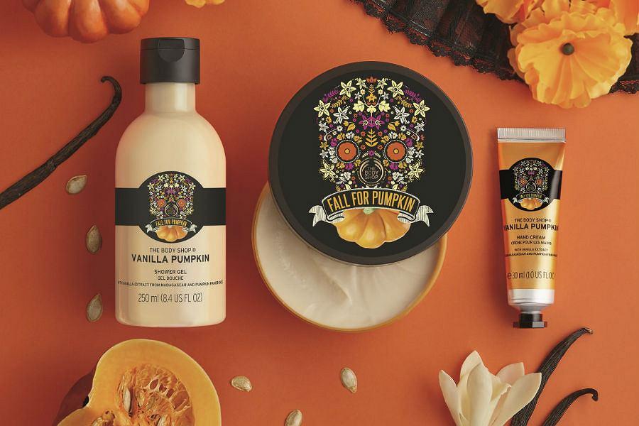 Vanilla Pumpkin to limitowana kolekcja The Body Shop