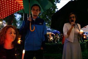 Manifestacja w Opolu. Sędziowie dziękują mieszkańcom za okazane poparcie