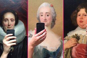 Muzeum Selfies, czyli Mona Lisa robi sobie fotk�. Wci�gaj�ca zabawa