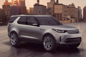 Salon Nowy Jork 2014 | Land Rover Discovery Vision Concept