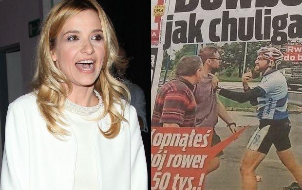 Joanna Koroniewska emocjonalnie komentuje wypadek Dowbora: Ten kole� pobi� mi Ma�ka