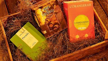 Wino w kartonie: warto! - Premio White, Valle Central, Santa Carolina; Monasterios Tinto, Bodegas Bleda oraz L'Orangeraie Chardonnay 2010, Vin de Pays d'Oc, Lorgeril