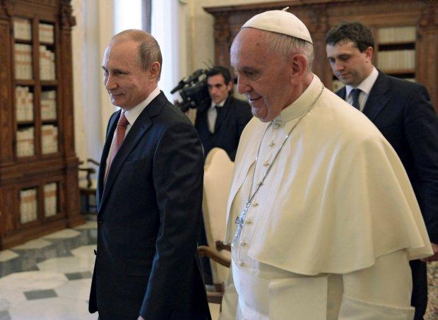 Anioły pokoju w Watykanie
