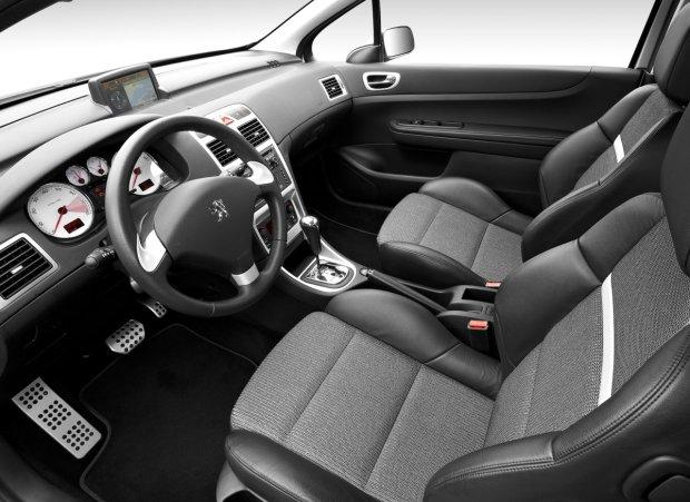 Peugeot 307 - wnętrze