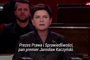 """Gala tygodnika """"wSieci"""" z Kaczyńskim w roli głównej. Pochwałom pod adresem prezesa nie było końca"""