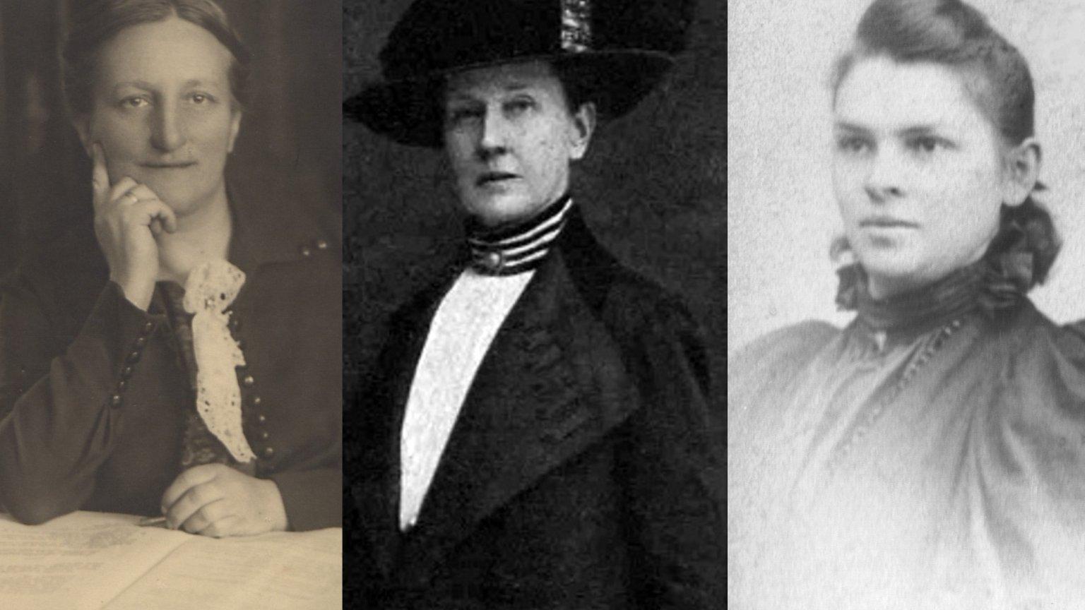 Zofia Moraczewska, Cecylia Plater-Zyberkówna, Justyna Budzińska-Tylicka
