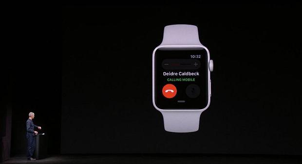 Apple Watch umożliwia rozmowy