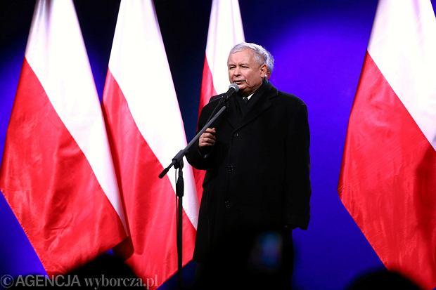 Przemówienie Jarosława Kaczyńskiego po