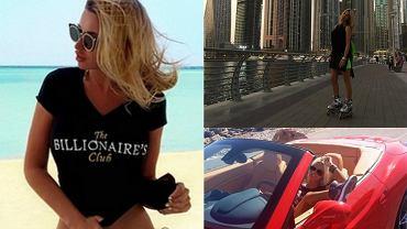 Wiktoria Konoplanka została okrzyknięta najpiękniejszą WAG spośród dziewczyn i żon ukraińskich piłkarzy. Śliczna blondynka to żona kapitana drużyny, a jej głównym zajęciem poza pracą modelki jest podróżowanie po świecie, jazda szybkimi samochodami oraz opalanie się na jachtach