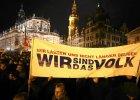 """Najwi�kszy jak dot�d antyislamski protest w Dre�nie. 17 tysi�cy ludzi. """"Wir sind das Volk!"""""""