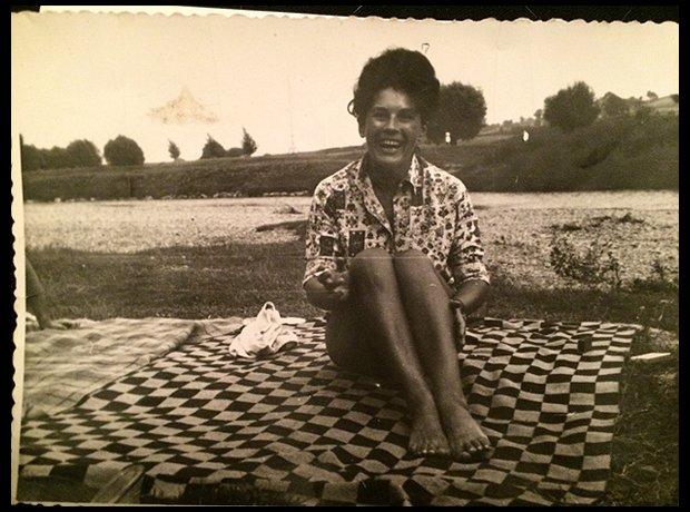 Moja ukochana babcia - lata 50. (Fot. Archiwum prywatne)