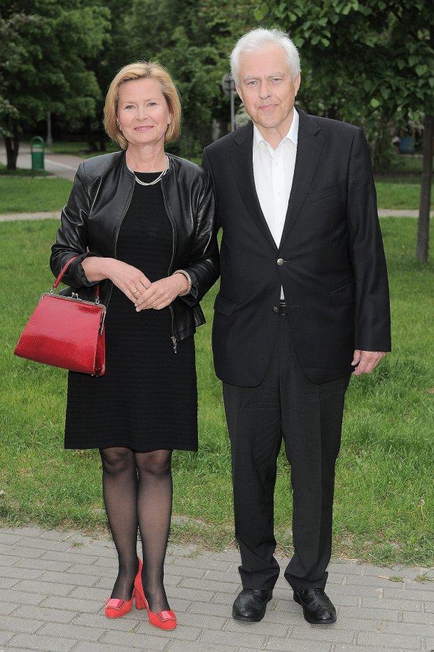 Barbara Bursztynowicz z mężem Jackiem