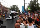 Papie� Franciszek pojecha� tramwajem na B�onia