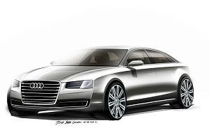 Salon Frankfurt 2013 | Audi A8 | Patrz mi prosto w oczy