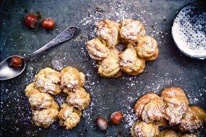 Ciasto parzone - eklery, ptysie, groszek ptysiowy