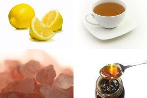 Domowy nap�j izotoniczny z zielon� herbat�