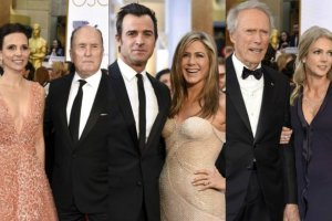 Robert Duvall, Justun Theroux, Jennifer Aniston, Clint Eastwood