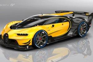 Wideo | Tak brzmi Bugatti Vision Gran Turismo