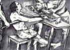 """""""Zauwa�y�em napis na �cianie: Witamy w piekle"""". 11 rysunk�w tortur, jakie stosuj� nigeryjska policja i wojsko"""