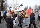 Protest mieszka�c�w na Swojczyckiej. Chc� odkorkowa� osiedla