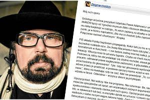 """Hołdys BEZBŁĘDNIE o walce KOD i opozycji z rządem PiS. """"To jeden z najlepszych tekstów dla Polski i dla nas"""""""
