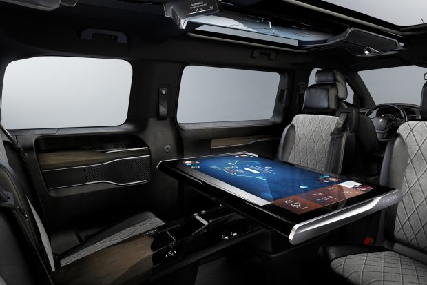 Salon Genewa 2016   Peugeot Traveller i-Lab VIP   Pokaz mo�liwo�ci