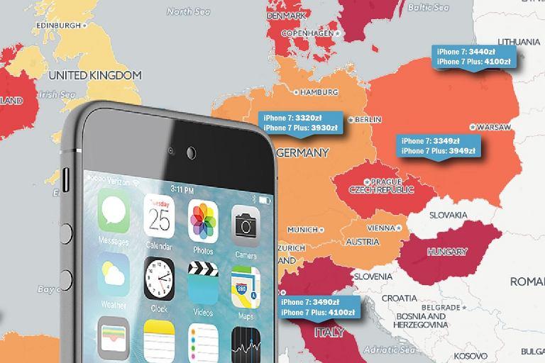 iphone 7 w polsce