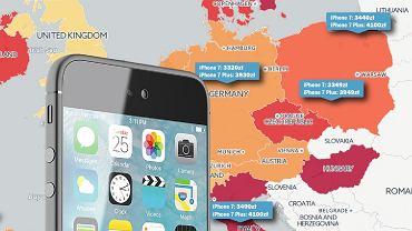 Ceny iPhone'a 7 w Polsce i na świecie