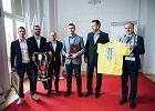 Wojewoda pomorski spotkał się ze zdobywcami Pucharu Polski. Czego życzył Arce, ale i Lechii?
