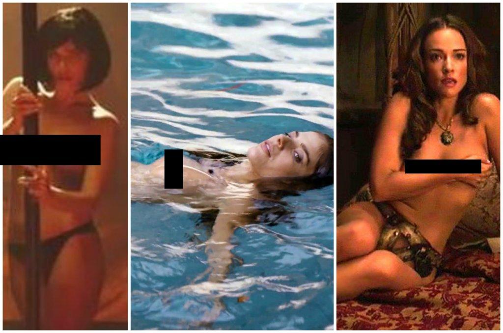 Zdj�cie numer 1 w galerii - Rosati pokaza�a piersi, Bachleda-Curu� wyst�pi�a w pasie cnoty. Te polskie gwiazdy nie boj� si� odwa�nych scen