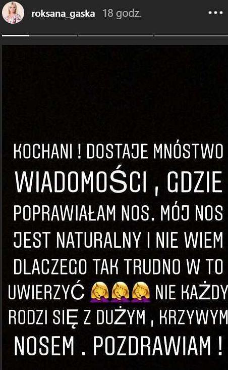 Wpis Roksany Gąski