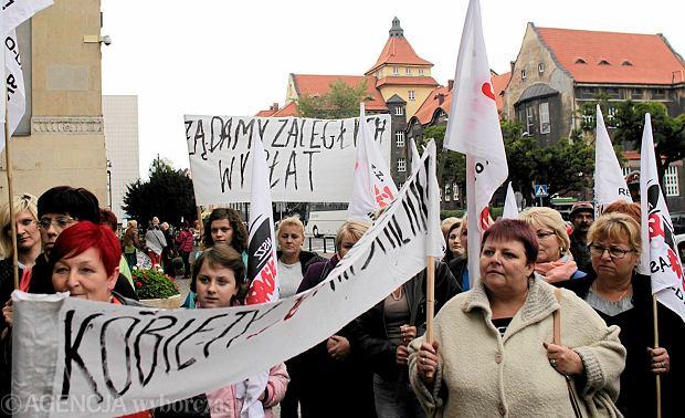 Protest w kopalni Kazimierz. Ju� 160 g�rnik�w pod ziemi�