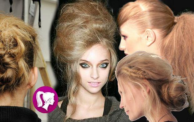 Trend z wybiegu: Fryzury dla puszących się włosów