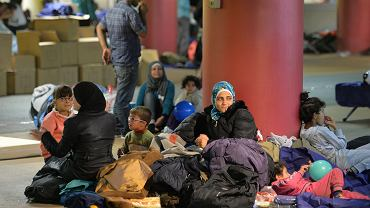 Uchodźcy z Syrii w Salzburgu w Austrii