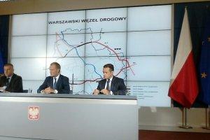 Drogowe przyspieszenie w Warszawie. Do 2019 r. powstanie obwodnica!