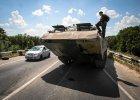 Ukraina: silne eksplozje w S�owia�sku i Kramatorsku. Prezydent Poroszenko chce doprowadzi� do rozejmu na wschodzie