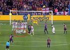 Liga Mistrzów. FC Barcelona - Inter. Nietypowe zachowanie Marcelo Brozovicia [wideo]