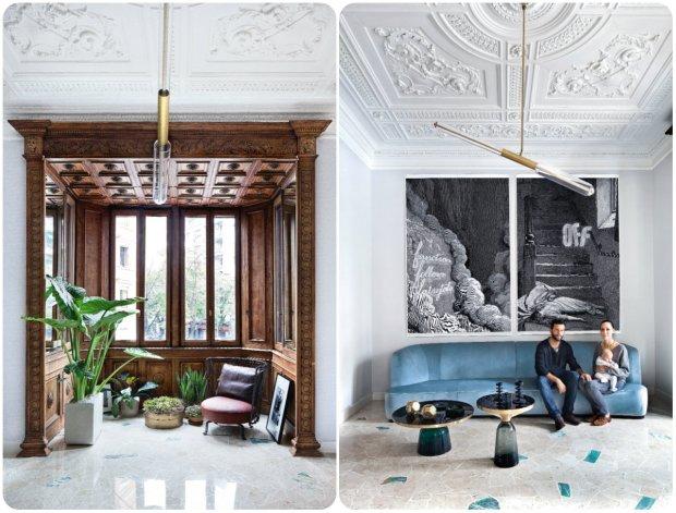 Secesyjny apartament w Mediolanie