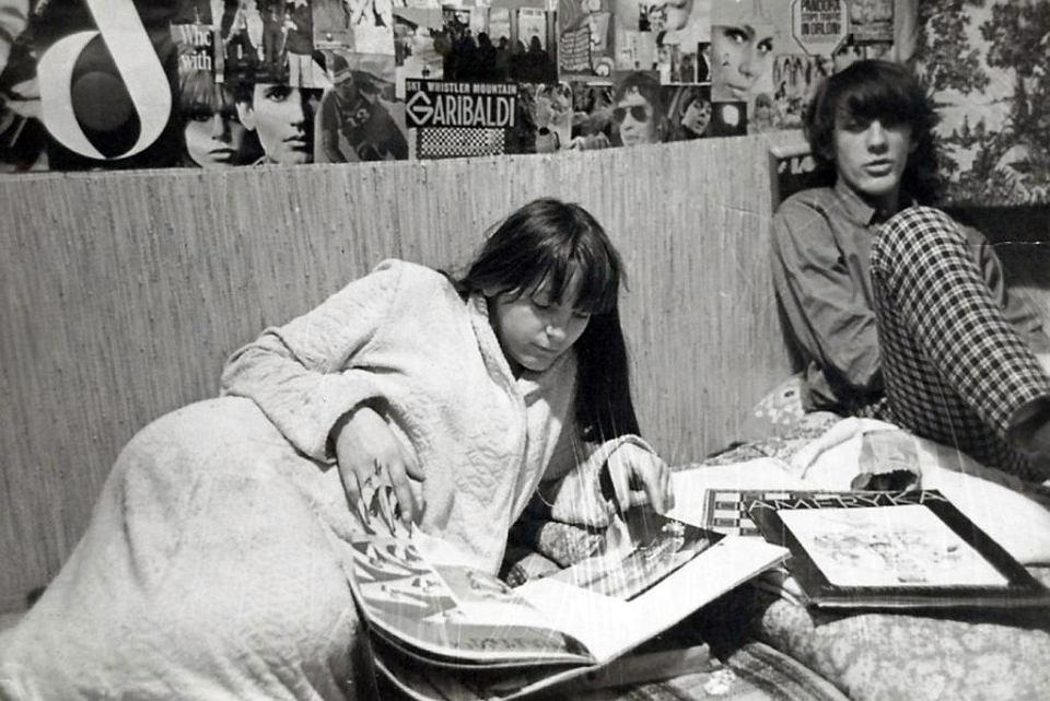 Jola ze Stefanem w Gliwicach, 1969