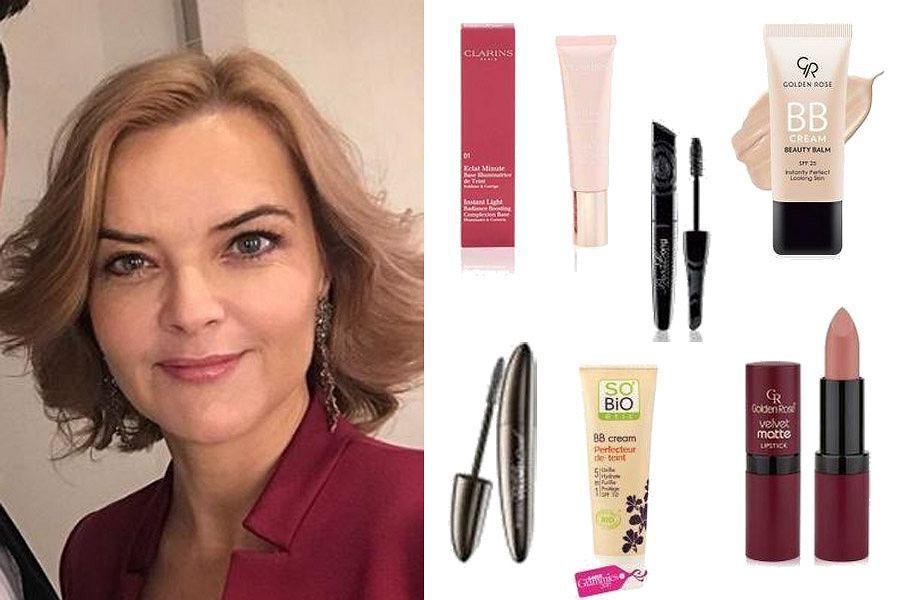 Kolaż, kosmetyki do delikatnego makijażu/Materiały partnera