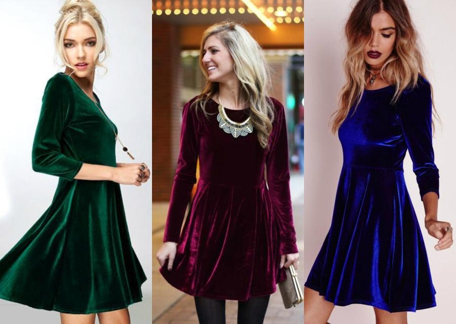 27d72f61cf Stylizacje na święta - aksamitna sukienka   fot. www.shopluckyduck.com