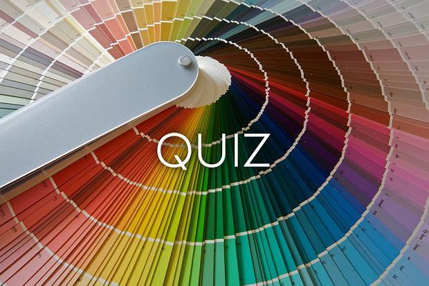 Na pewno znasz te kolory czy tylko tak ci się wydaje? Sprawdź się [QUIZ]