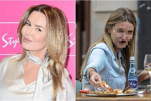 Hanna Lis wybrała się z córką do restauracji. Dziennikarka, która olśniewa na ściankach, tym razem zrezygnowała z makijażu. Jak wyglądała? Zobaczcie.