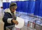 Wybory na Ukrainie. Mariupol nie g�osuje, bo nie ma kart w lokalach wyborczych