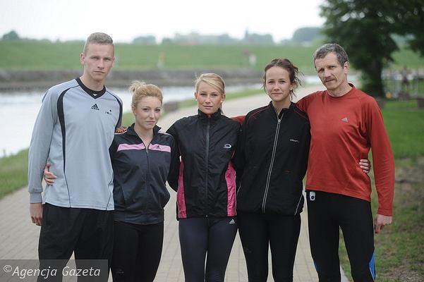 Biegająca rodzina Uciechowskich