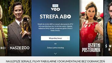 Strefa Abo (Strefa Abonenta) - nowy serwis TVP. Płacący abonament uzyskają dostęp za darmo